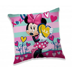 Dekorační polštářek 40x40 cm - Minnie XOXO