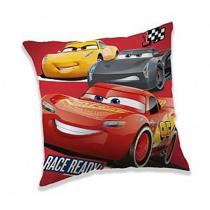 Dekorační polštářek 40x40 cm - Cars race ready