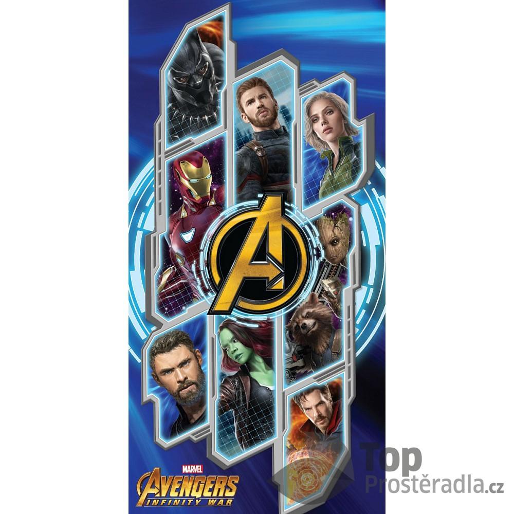 TOP Osuška 70x140 Avengers Infinity War