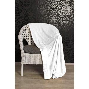 Mikroflanelová deka Premium 150 x 200 - Bílá