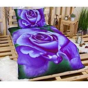 3D Povlečení 140x200+70x90 Bluelila Rose