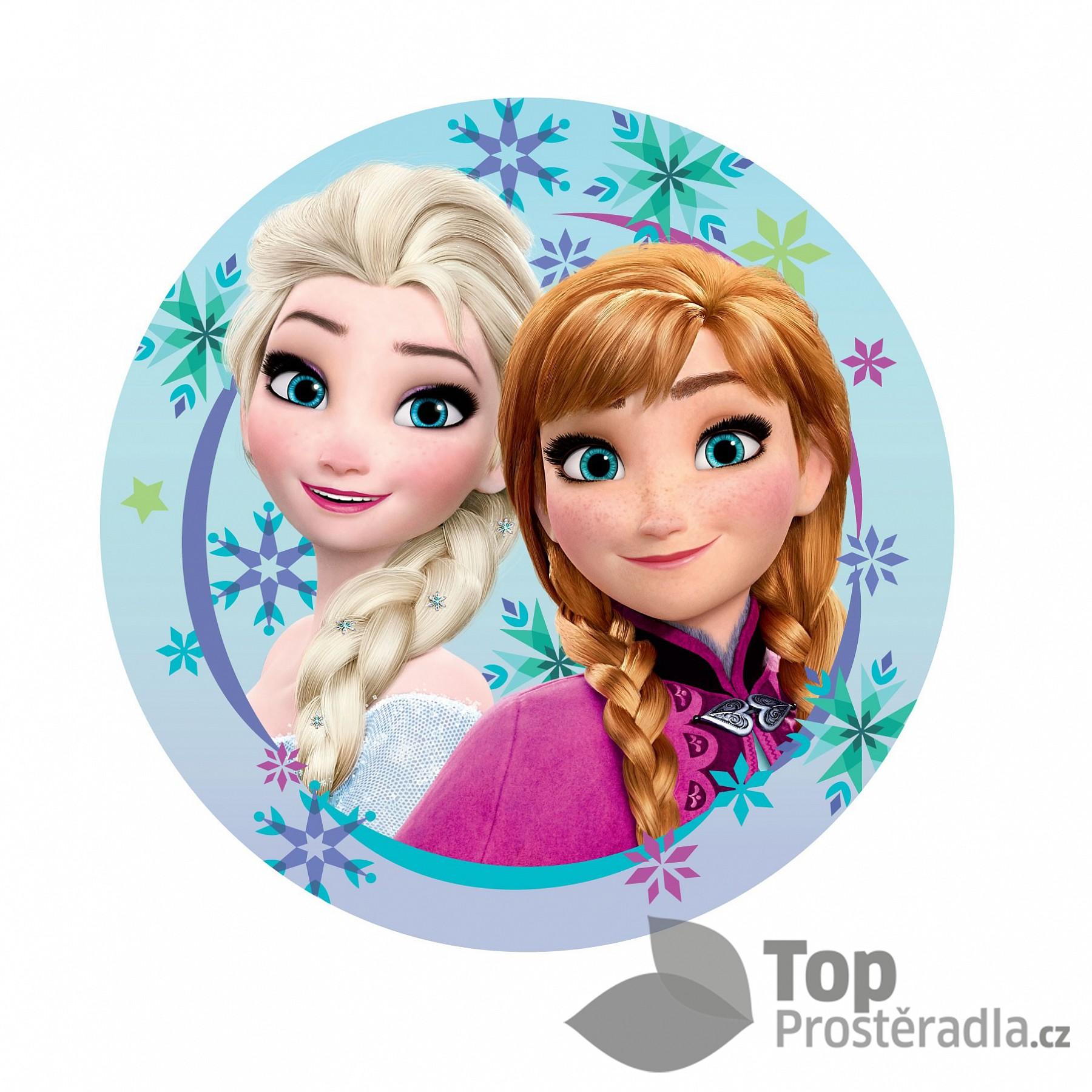 Dekorační polštářek 35x35 cm - Frozen Sisters
