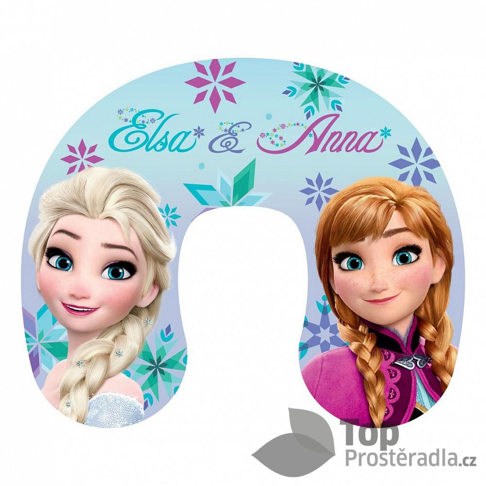 Cestovní polštářek - Frozen Elsa a Anna