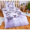 3D Povlečení 140x200+70x90 White tiger II