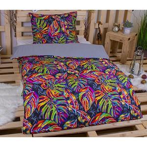 Microtop povlečení 220x200+2x70x90 Colored jungle