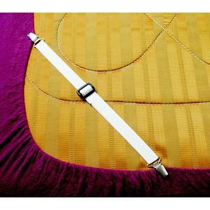 Napínací úchyty na prostěradlo MAX 130 cm - 2 kusy