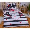Bavlněné povlečení 140x200 70x90 Mickey & Minnie big love