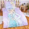 Bavlněné povlečení Frozen Elsa 140x200+70x90