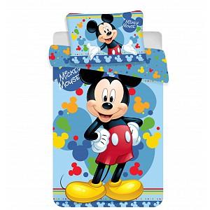 Bavlněné povlečení do postýlky 100x135+40x60 Mickey