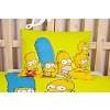 Bavlněné povlečení Simpsonovi vás zdraví 140x200+70x90