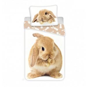 Bavlněné povlečení 140x200+70x90 Bunny