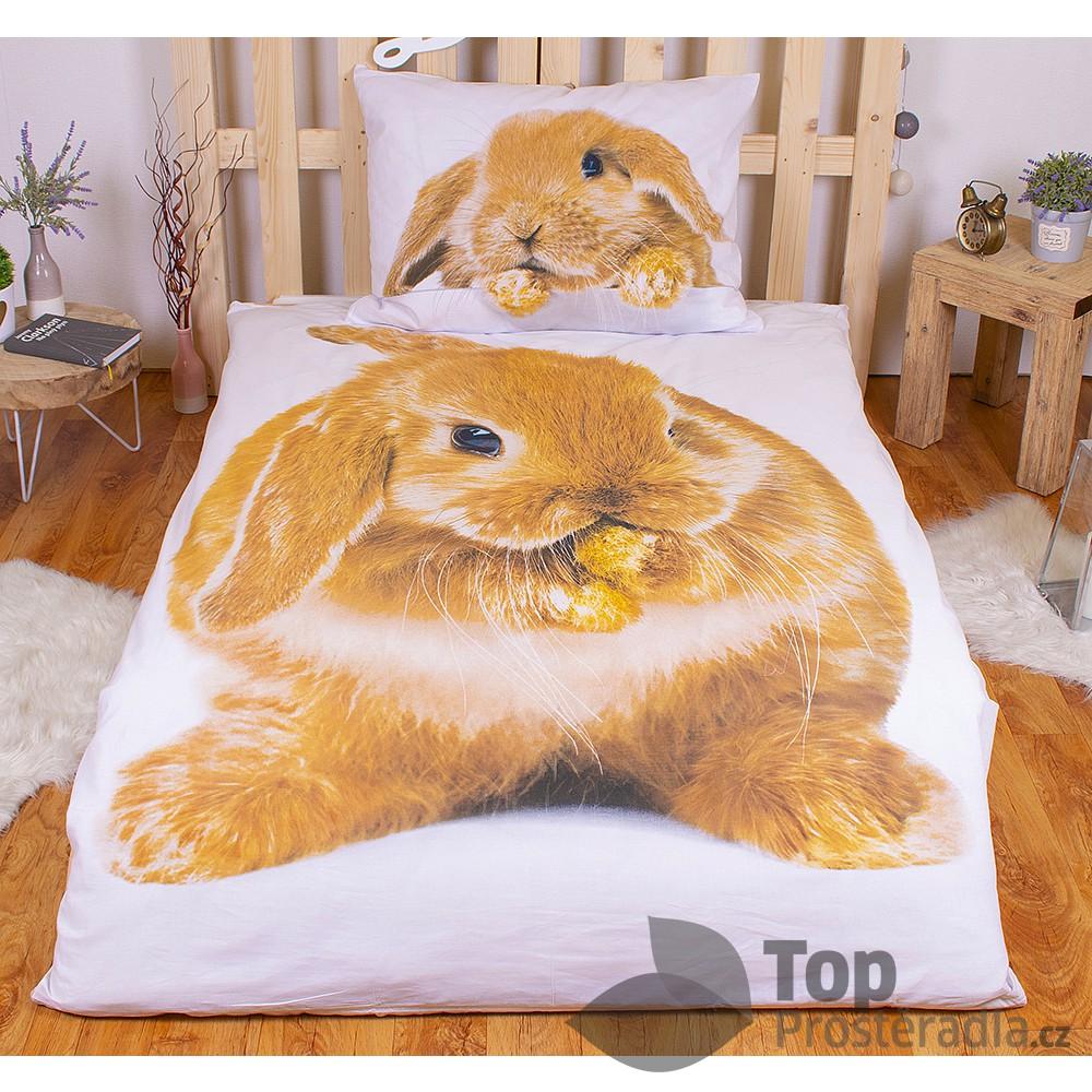 TOP Bavlněné povlečení 140x200+70x90 Bunny