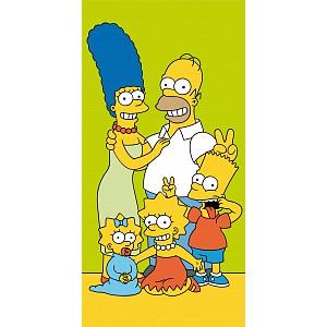 Osuška 70x140 - Simpsonovi vás zdraví