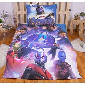 Bavlněné povlečení 140x200+70x90 Avengers Endgame