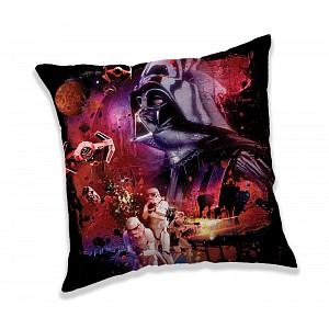Dekorační polštářek 40x40 cm - Star Wars dark power