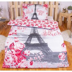 Bavlněné povlečení PARIS ROSES 140x200+70x90