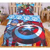 Bavlněné povlečení 140x200+70x90 Avengers lightings (ve tmě svítí)