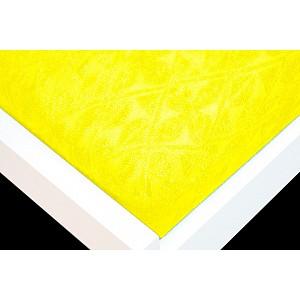 Žakárové prostěradlo (160 x 200) Premium - Citrónová