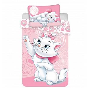 Dětské bavlněné povlečení Marie Cat 100x135+40x60