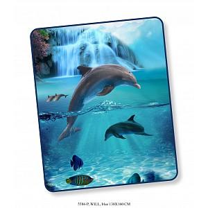 Deka / Pléd HIP DeLuxe 130x160 Dolphin
