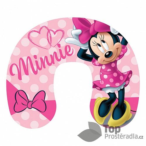 Cestovní polštářek - Minnie pink