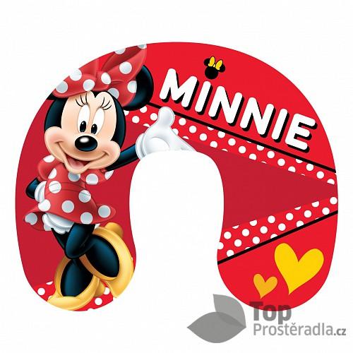 Cestovní polštářek - Minnie red