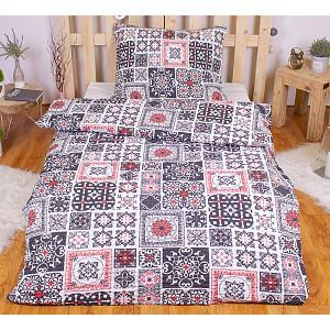 Polybavlna povlečení PREMIUM 140x200+70x90 - Orient patchwork