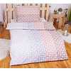 Polybavlna povlečení PREMIUM 140x200+70x90 - Brown spikes