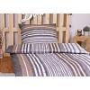 Polybavlna povlečení PREMIUM 140x200+70x90 - Grey stripes