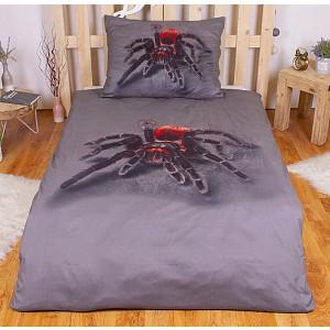 3D povlečení 140x200 + 70x90 - Pavouček