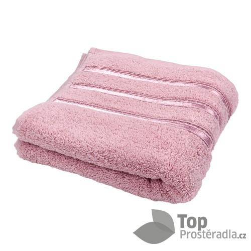 Froté ručník MONTANA LUX - STARORŮŽOVÁ