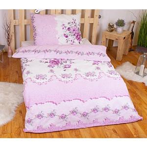 RANFORCE Bavlněné povlečení 140x200+70x90 Sweet pink