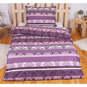 RANFORCE Bavlněné povlečení 140x200+70x90 Jeny purple