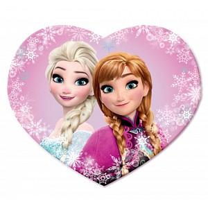 Dekorační polštářek 35x35 cm - Frozen Sisters love