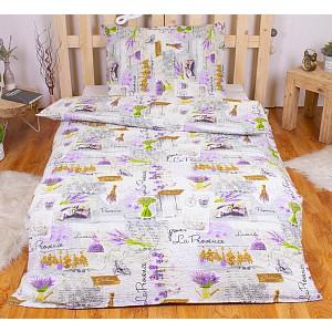 Krepové povlečení DELUXE 140x200+70x90 - Lavender