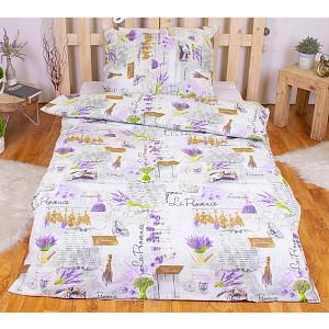 Bavlněné povlečení 140x200+70x90 - Lavender