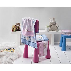 Dětský froté ručník BRUMIK Modrý 50x70