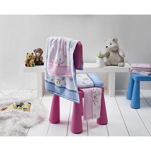 Dětský froté ručník BRUMIK Růžový 50x70