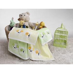 Dětský froté ručník PEJSEK Zelený 50x70