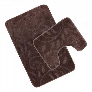 Koupelnová a WC předložka Dark chocolate