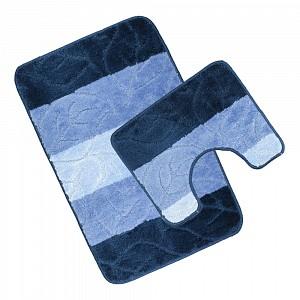 Koupelnová a WC předložka Shades of blue
