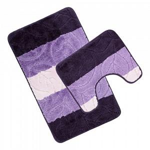 Koupelnová a WC předložka Shades of purple