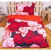 3D povlečení 140x200 + 70x90 - Rose garden