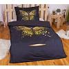 3D povlečení 140x200 + 70x90 - Golden butterfly