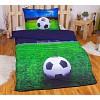 3D povlečení 140x200 + 70x90 - Fotbalový sen