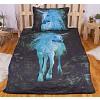 3D povlečení 140x200 + 70x90 - Forest Unicorn