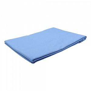 Prostěradlo bavlněná plachta KLASIK 140x240 - Modrá