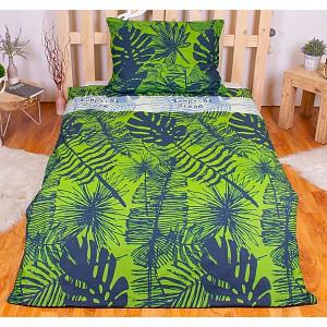Povlečení mako bavlna AVERI 140x200+70x90 Rainforest