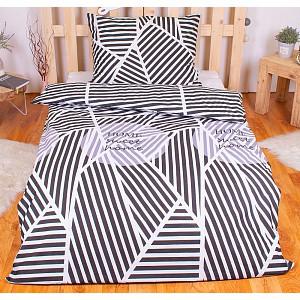 Povlečení mako bavlna AVERI 140x200+70x90 Sweet home light