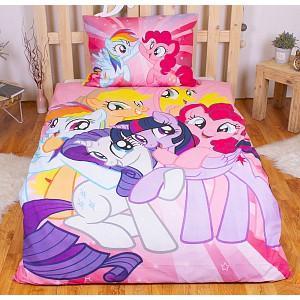 Bavlněné povlečení 140x200+70x90 My Little Pony